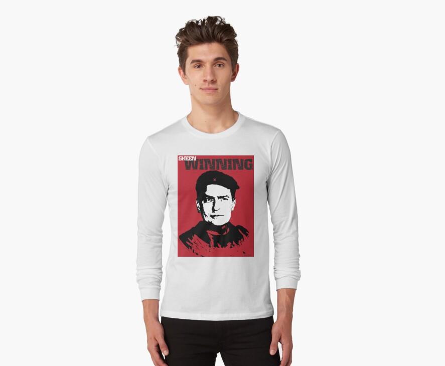 Winning Charlie Sheen T Shirt by designerjenb