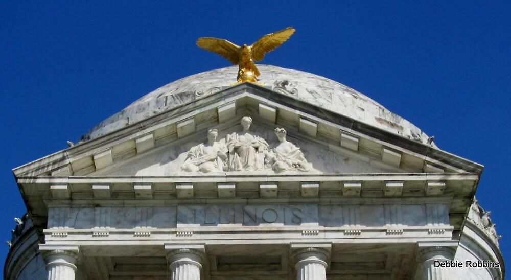 Illinois Memorial to their Fallen Troops, Vicksburg, MS by Debbie Robbins