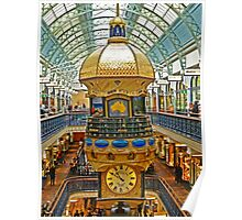 The Great Australian Clock at QVB Poster