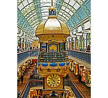 The Great Australian Clock at QVB Photographic Print
