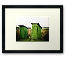 Bathroom anyone? Framed Print