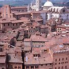 Rooftops, Siena, Tuscany, Italy. by johnrf