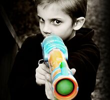 A Boy And His Nerf by lisamgerken