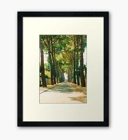 A World Away From Noise Framed Print