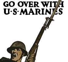 Go Over With US Marines -- WWI by warishellstore