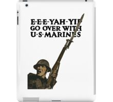 Go Over With US Marines -- WWI iPad Case/Skin