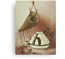 The Burden Basket Canvas Print