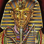 Egyptian Painting by Bobbie J. Bonebrake