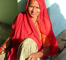 Relaxing in the Sun, Rajasthan by TracyS