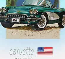classic corvette by DannyBurns