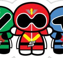 Chibi-Fi Super Sentai Goranger Sticker