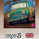 Cooper S classic car by DannyBurns