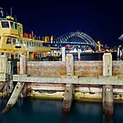 Sydney Harbour at night by Kutay Photography