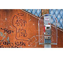 Venice Telephone Photographic Print