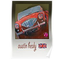 austin healy classic Poster