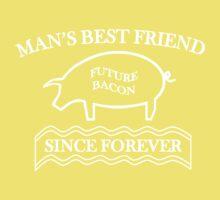 Future Bacon - white design Kids Clothes