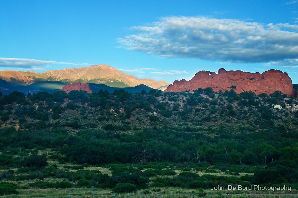 Morning Light Over Pikes by John  De Bord Photography