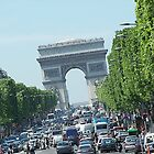 The Arc de Triomphe by rocperk