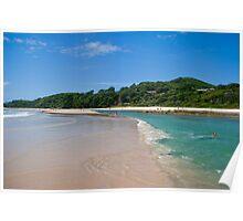 Byron Bay beach 2 Poster