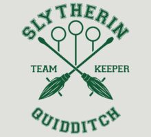 Slytherin - Team Keeper by quidditchleague