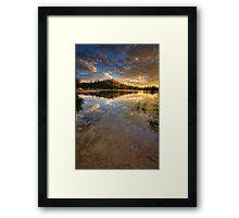 Fade To Sky Framed Print