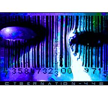 Cyber-Nation-442 Photographic Print