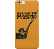 Go Over With US Marines -- World War One iPhone Case/Skin
