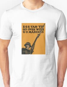 Go Over With US Marines -- World War One T-Shirt