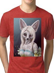 Summer Ivy - Fennec Fox Girl Tri-blend T-Shirt