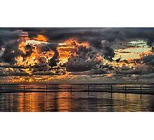Sunrise in Cronulla Photographic Print