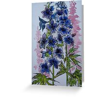 Untitled Watercolour - Flowers Greeting Card