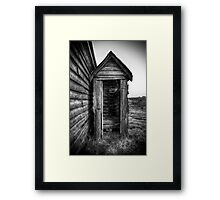 "Outhouse ""Dunny"" - HDR Framed Print"