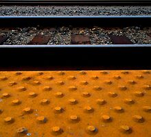 """TRAIN TRACK TEXTURES"" Best Viewed Large by waddleudo"