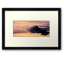 Rocky Sunset Framed Print