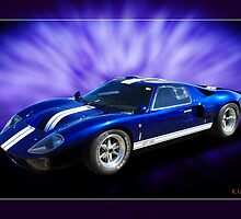 Ford GT40 Classic by Keith Hawley