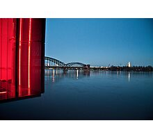 Red Cologne Photographic Print