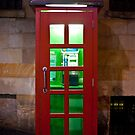 Red Phone Box and the Ghost by Puggs