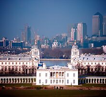 Old Royal Naval College, Greenwich by Lisa Hafey