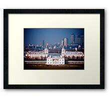Old Royal Naval College, Greenwich Framed Print