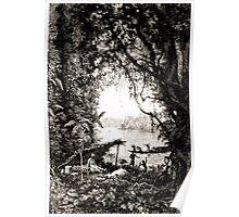 Édouard Riou Voyage brazza braves laptots riou 1887 Poster