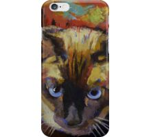 Seal Point Siamese iPhone Case/Skin