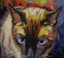 Seal Point Siamese by Michael Creese