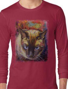 Seal Point Siamese Long Sleeve T-Shirt