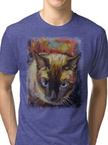 Seal Point Siamese Tri-blend T-Shirt
