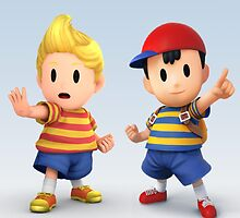 Ness and Lucas by Pootis