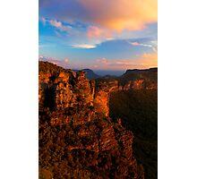 Boar's Head Rock, Katoomba, NSW. Photographic Print