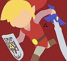 Toon Link (Red) - Super Smash Bros. by samaran