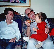 With  Grandma & Grandpa by Rusty Gentry