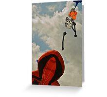 Kite Festival, Muizenberg Greeting Card
