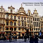 Greetings from Brussels! by JoAndCoCards